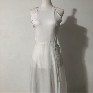 White Beach Summer Dress
